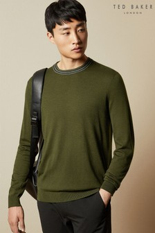 Ted Baker Mailais Long Sleeved Crew Neck Jumper