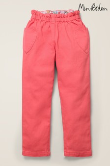 Boden Pink Pull-On Trousers