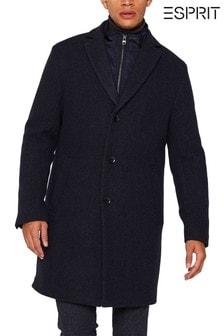 Modrý kabát 2 v 1 s odnímatelnou vložkou Esprit