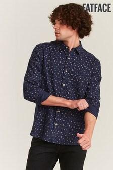 FatFace Blue Setley Floral Print Shirt