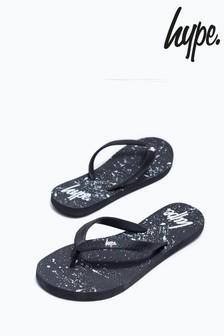 Hype. Speckle Flip Flops