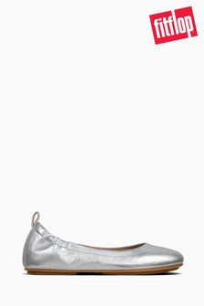 Fitflop Silver Allegro Shoes