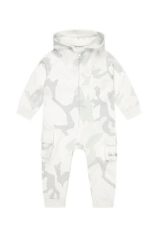 Dolce & Gabbana Kids Baby Boys Black Cotton Babygrow