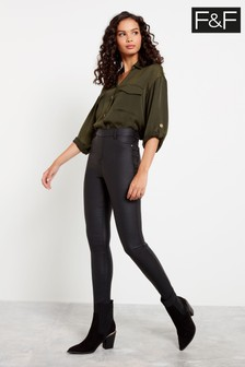 F&F Black Jeggings