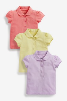 3 Pack Polo Tops (3mths-7yrs)