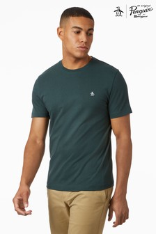 Original Penguin® Short Sleeve Pin Point Embroidered Logo T-Shirt