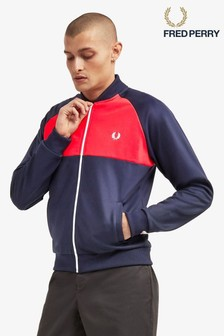 Fred Perry Colourblock Track Jacket