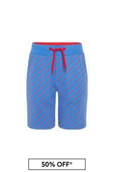 Marc Jacobs Blue Cotton Shorts