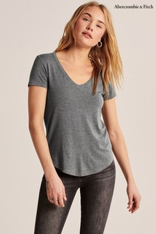 Abercrombie & Fitch Grey T-Shirt