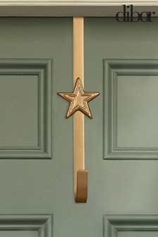 Dibor Gold Star Wreath Hanger