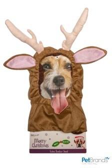 Reindeer Dog Snood by Pet Brands