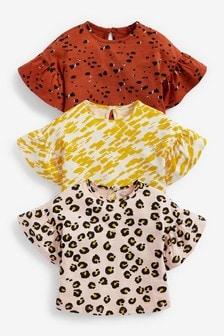 3 Pack Animal T-Shirts (3mths-7yrs)