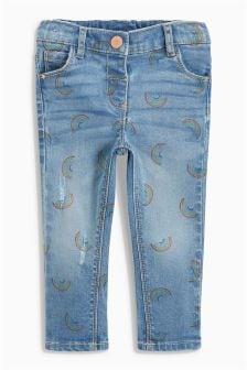 Rainbow Printed Jeans (3mths-6yrs)