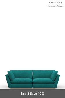 Terence Conran Four Seater Sofa Alder