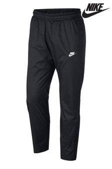 Nike Black Woven Joggers