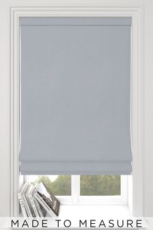 Eloise Silver Made To Measure Roman Blind