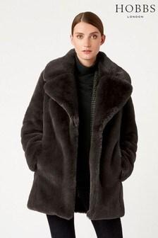 Hobbs Grey Bethany Coat