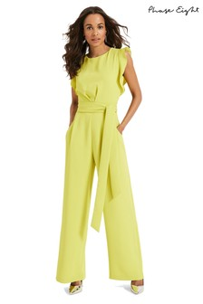 Phase Eight Yellow Victoriana Jumpsuit