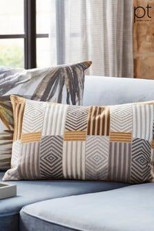 Prestigious Textiles Blake Amber Cushion