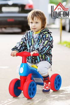 Balance Bike Training Toy with Rubber Wheels by HOMCOM