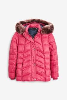 Barbour® Pink Bernera Quilted Jacket