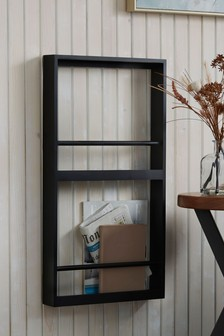 Large Wall Mountable Magazine Rack