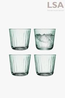 Set of 4 LSA International Mia Tumbler Glasses