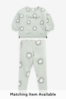 Wonderful Floral Co-ord Jumper And Joggers Set (3mths-7yrs)
