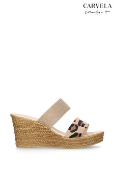 Carvela Comfort Sybil Gold Sandals