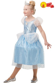 Rubies Glitter Sparkle Cinderella Fancy Dress Costume