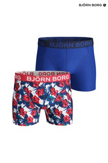 Bjorn Borg Blue Floral Trunks Two Pack
