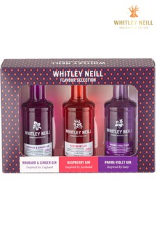 Set of 3 5cl Gin Gift Set by Whitley Neill