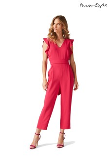 Phase Eight Pink Victoria Jumpsuit