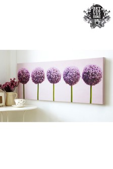 Row Of Alliums Wall Art by