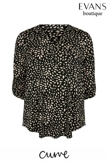 Evans Curve Black Jersey Shirt