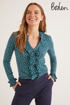 Boden Blue Alberta Jersey Shirt