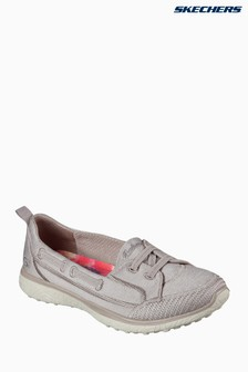 Skechers® Natural Microburst Topnotch Heathered Jersey Flat