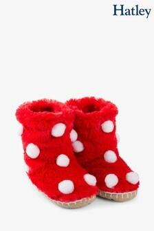 Hatley LBH Kid's Snow Balls Slippers