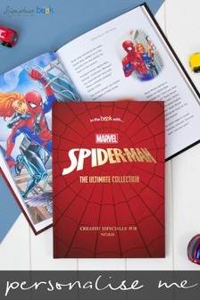 Personalised Spider-Man™ Collection Book by Signature Book Publishing