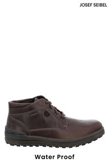 Josef Seibel Brown Emil Waterproof Leather Boots