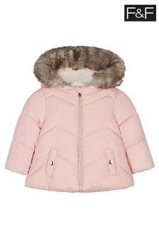 F&F Pink Padded Coat