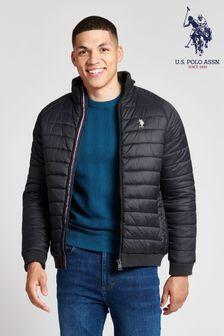 Куртка с рукавами реглан и легким утеплителем U.S. Polo