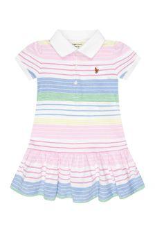Ralph Lauren Kids Baby Girls Multi Cotton Dress