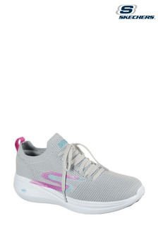 Skechers® Grey Go Run Fast Quick Step Trainers