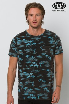 Animal Black Palmar Deluxe Graphic T-Shirt