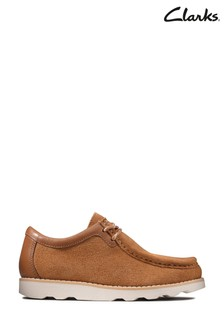 Clarks Tan Crown Wall K Shoes