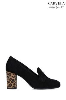 Carvela Comfort Black Suede Angelica Shoes