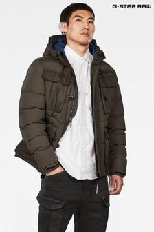 Uniwersalna kurtka z kapturem w kolorze khaki G-Star Whistler