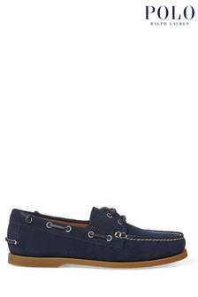 Polo Ralph Lauren Navy Merton Suede Loafers