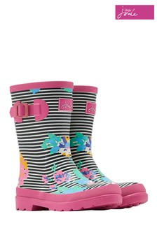 Joules Girls Printed Wellies